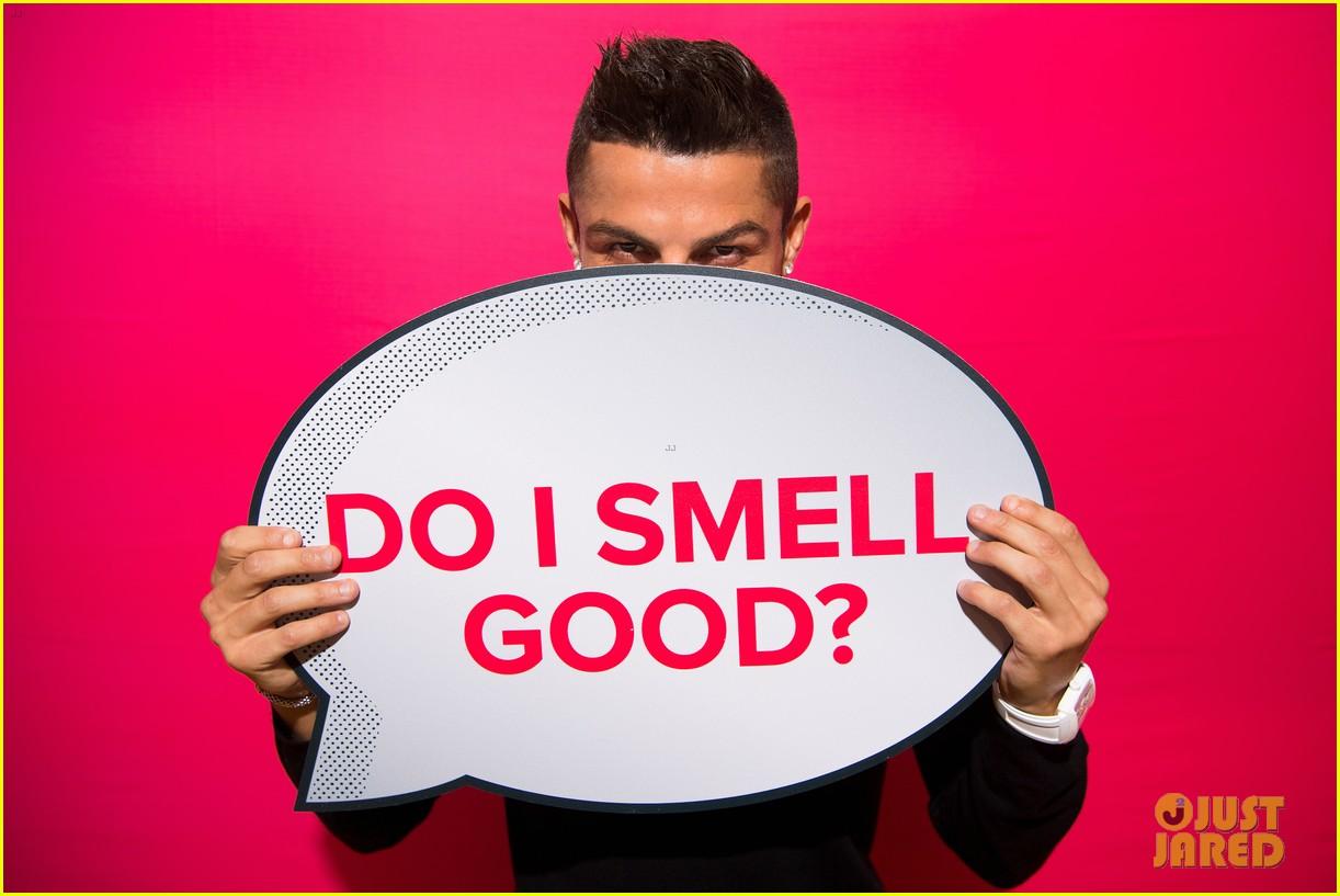 cristiano ronaldo fragrance launch event 063954744