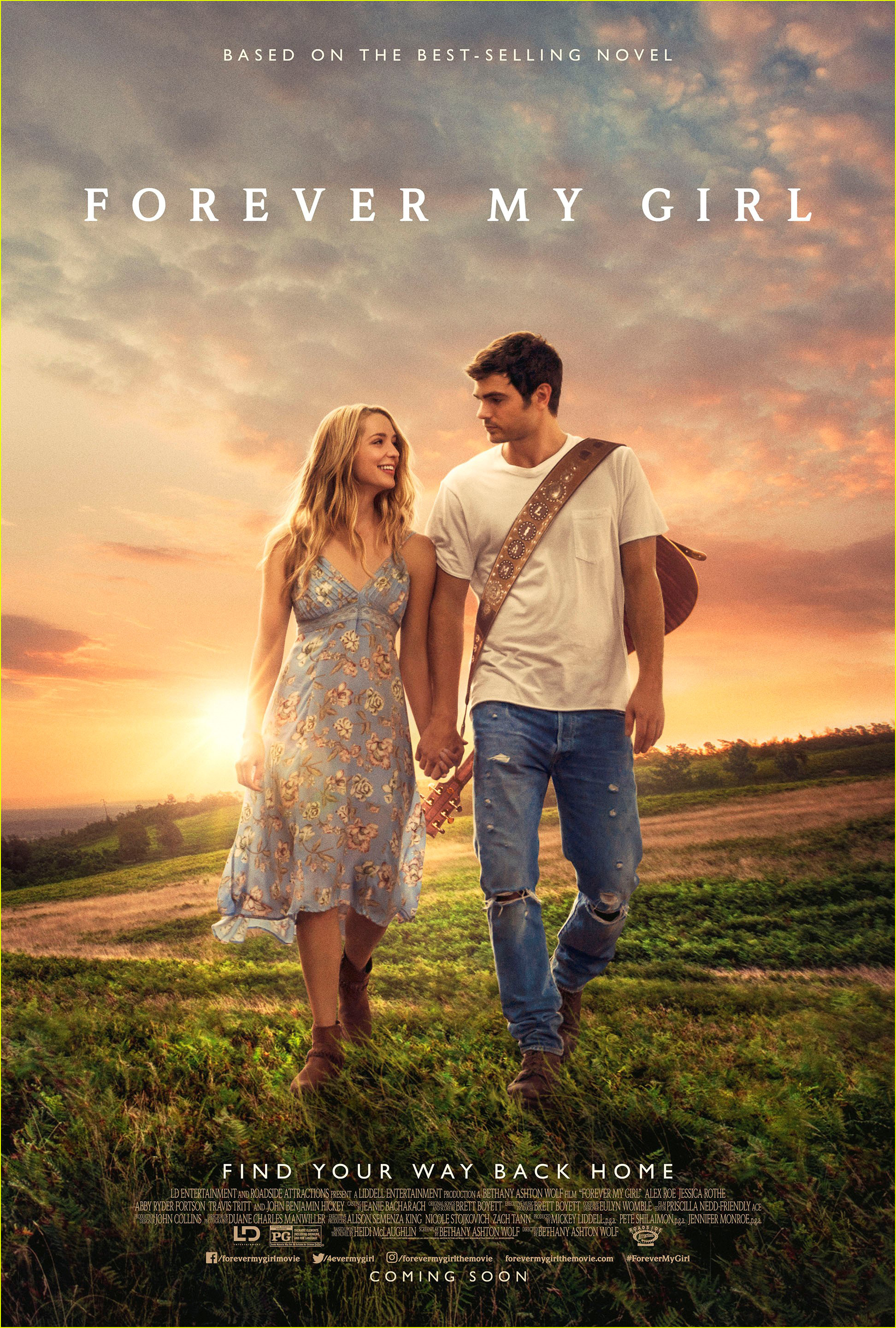 Jessica Rothe & Alex Roe Hold Hands in 'Forever My Girl ...