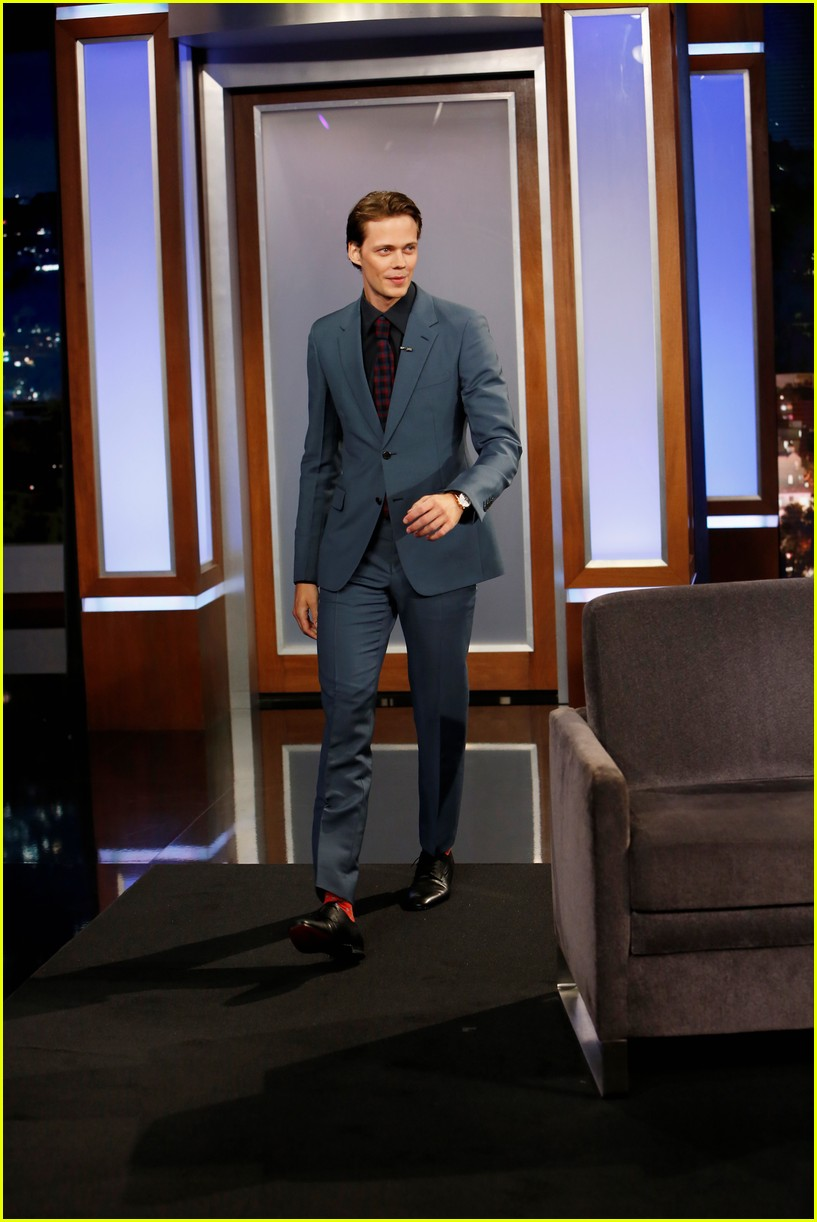 bill skarsgard jimmy kimmel 023951415