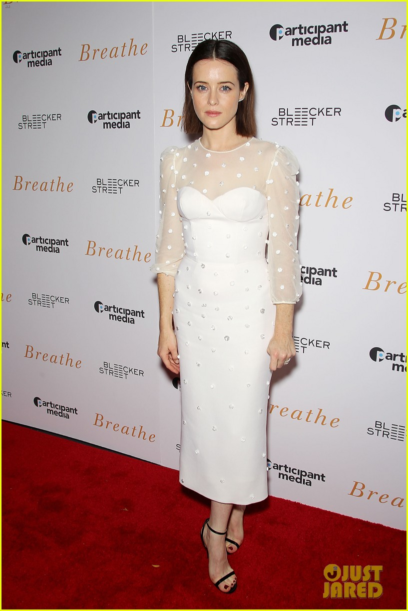 andrew garfield claire foy breath screening nyc 013970330
