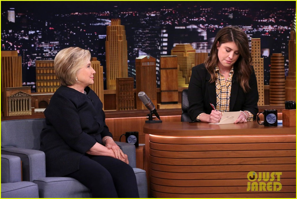 hillary clinton on tonight show i want our country to understand how resilient 013968471