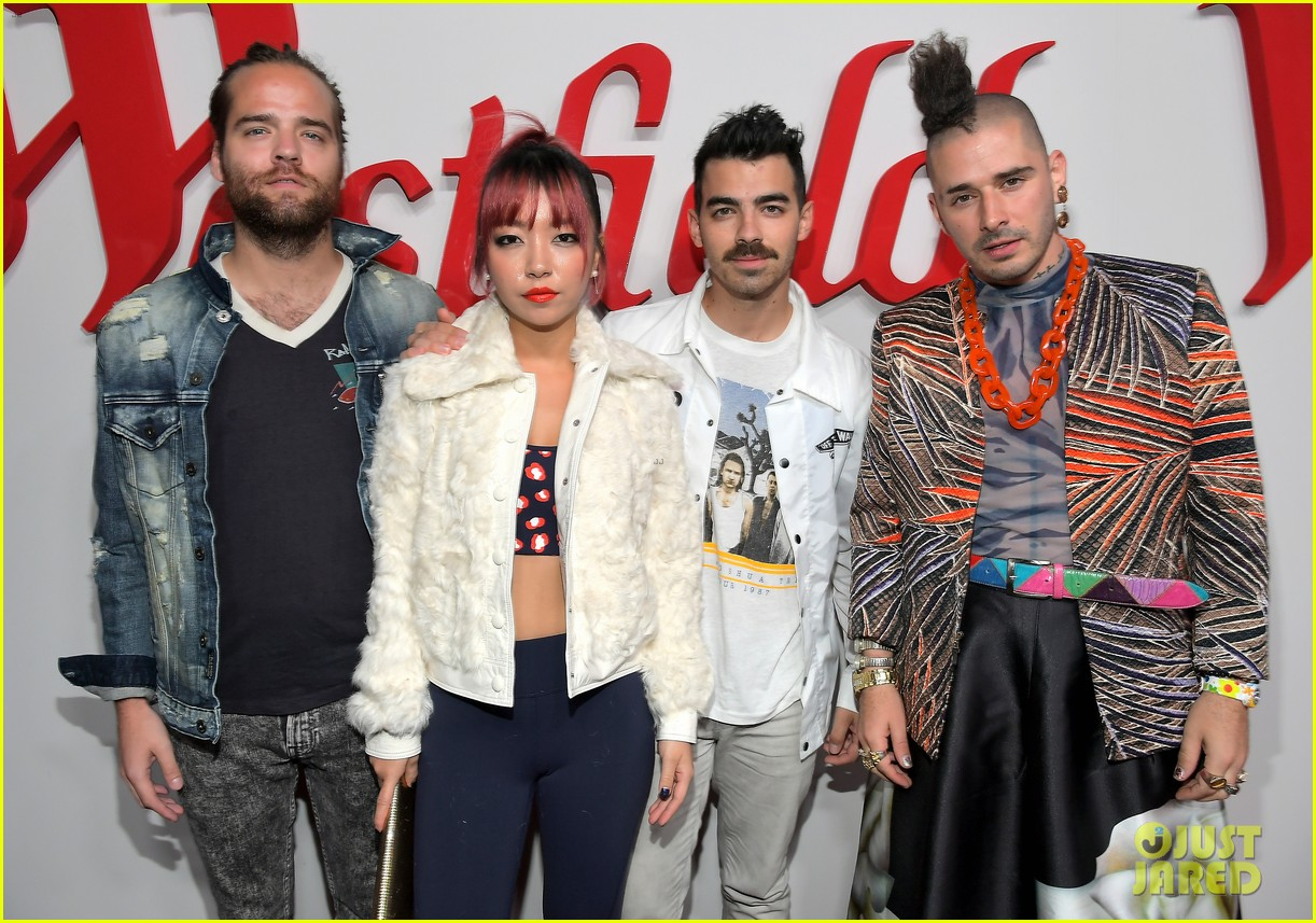 dnce william and more celebrate westfield century city reopening 053968201