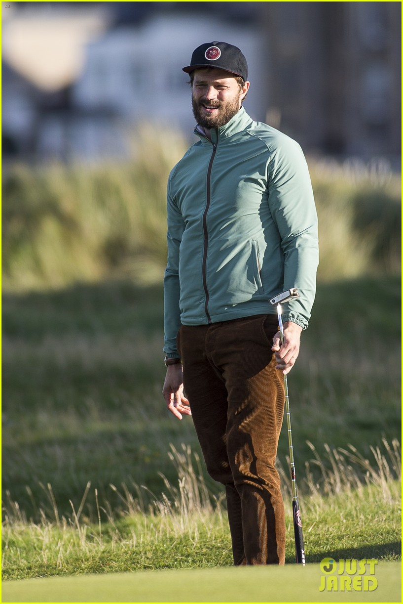 jamie dornan plays in alfred dunhill golf championship 293968680
