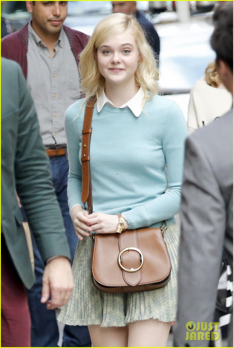 elle fanning timothee chalamet film woody allens upcoming film around nyc 023971697