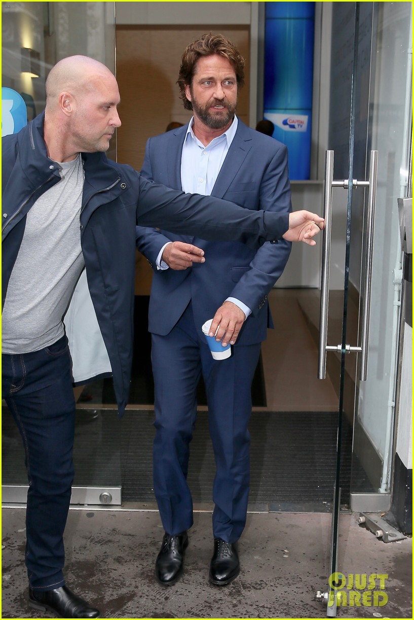gerard butler capital radio london 143975091