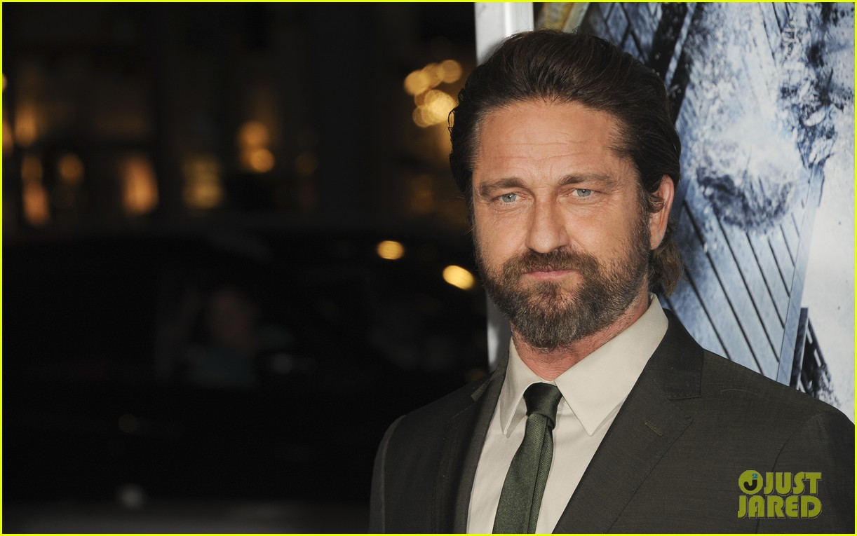 gerard butler geostorm premiere after motorcycle accident 163973566