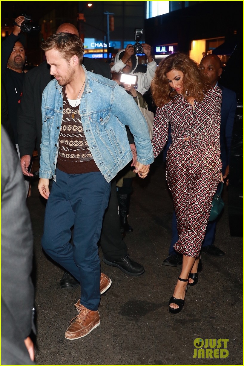 ryan gosling eva mendes rare appearance out 013966644