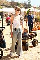 jaime king takes birthday boy james knight pumpkin picking 12