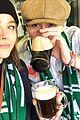 brooklyn beckham kisses chloe moretz at a soccer match 03
