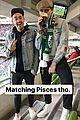brooklyn beckham kisses chloe moretz at a soccer match 11