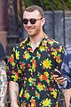 sam smith hangs out with friends ahead of his snl performance 04