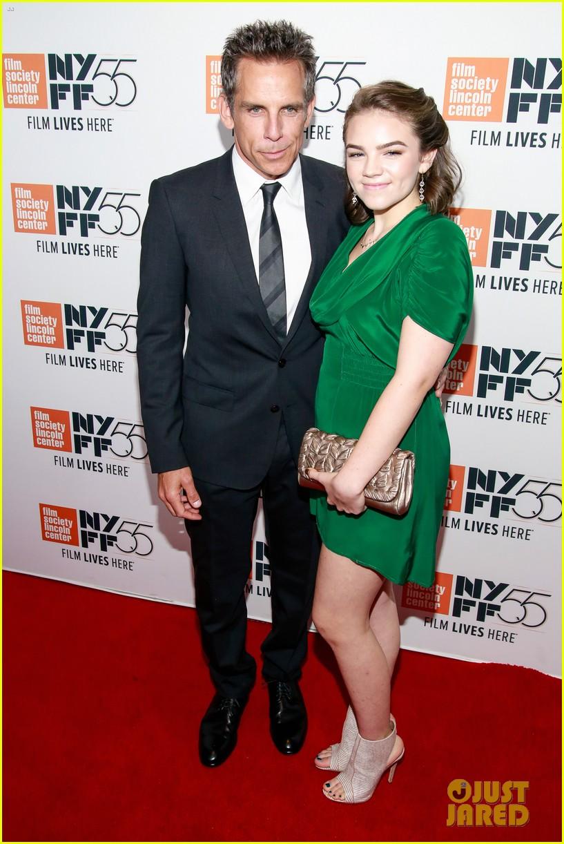 ben stiller daugther ella join adam driver the meyerowitz stories cast at nyc premiere 033966962