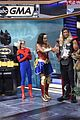 robin roberts michael strahanon gma hosts turn into superheroes for halloween 07