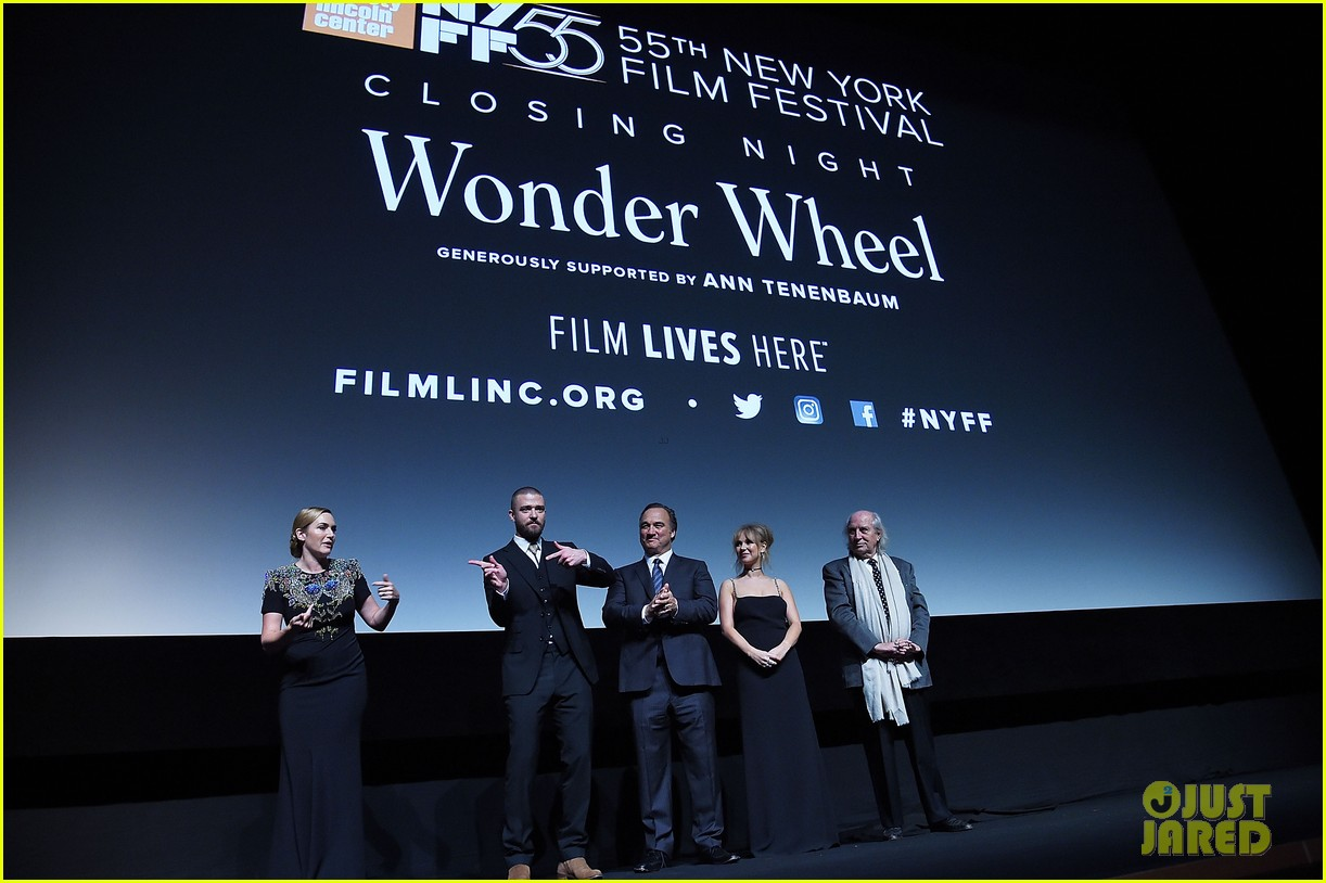 justin timberlake goofs off with kate winslet at wonder wheel premiere 053973277