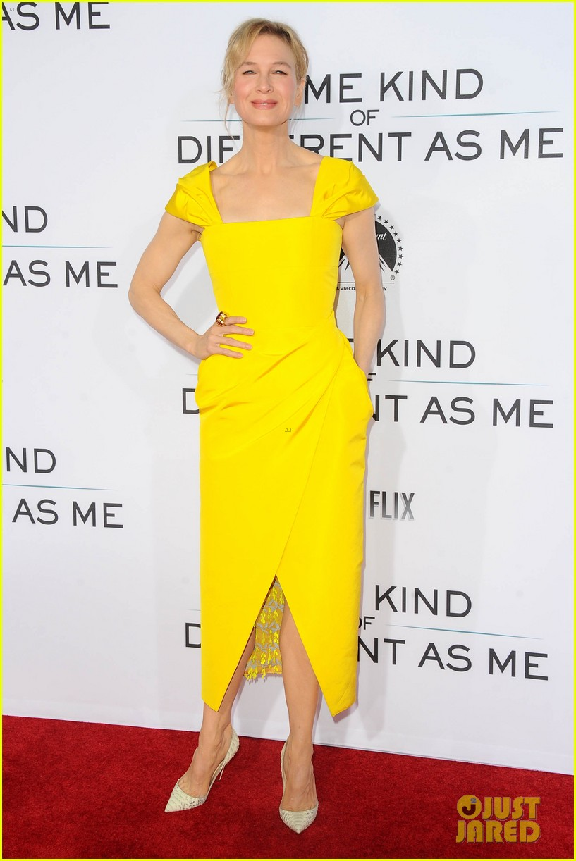 renee zellweger is pretty in yellow at same kind of different as me premiere 023971822