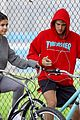 justin bieber selena gomez bike ride together 48