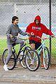 justin bieber selena gomez bike ride together 49