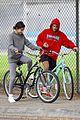 justin bieber selena gomez bike ride together 54
