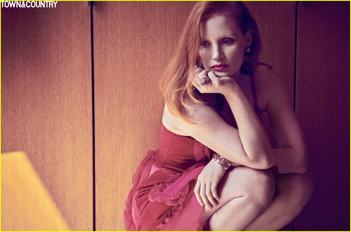 jessica chastain town country magazine 063987271