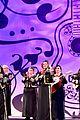 jonathan groff idina menzel join coco cast at marigold carpet premiere 11