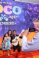 jonathan groff idina menzel join coco cast at marigold carpet premiere 14