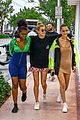 bella hadid and hailey baldwin live it up on miami boat ride 04