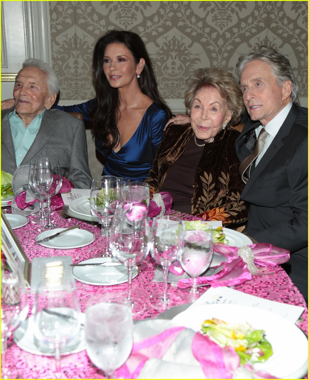 catherine zeta jones gets family support at legacy of vision gala 073985536