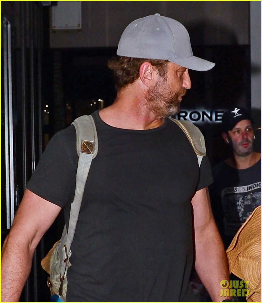 gerard butler girlfriend morgan brown enjoy a night in miami 063999453