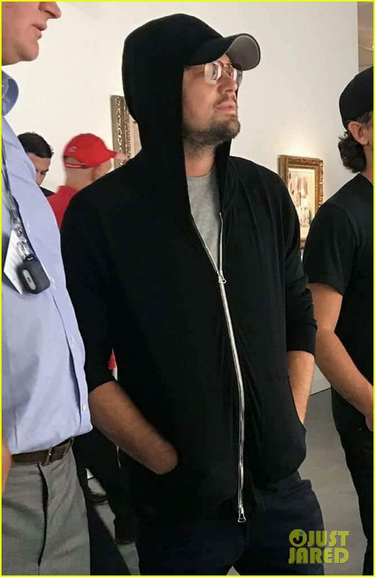 leonardo dicaprio keeps a low profile at art basel in miami 043998433
