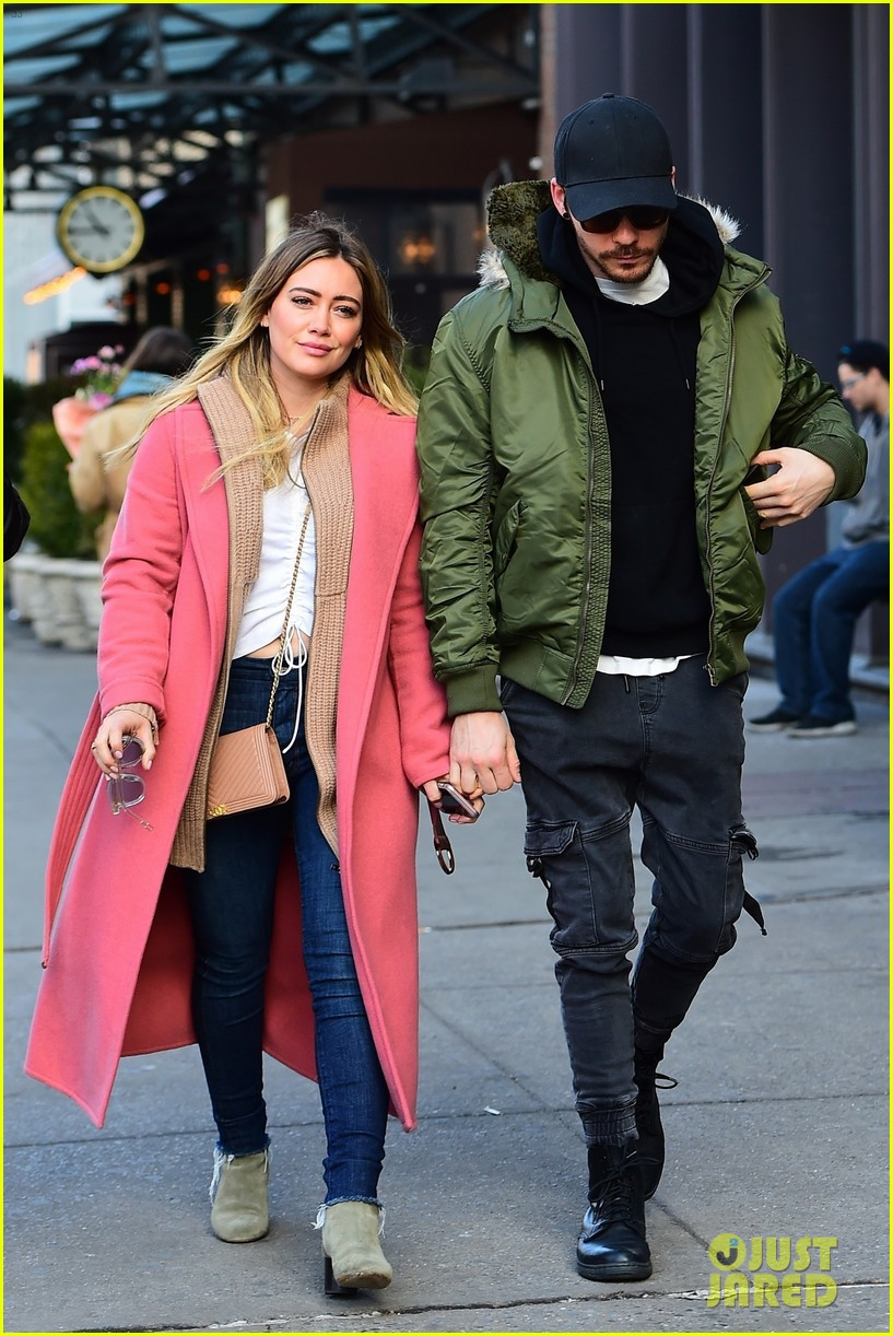 Hilary Duff Amp Matthew Koma Spend Time Together In Nyc