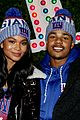chanel iman new fiance sterling shepard help kick off christmas in nyc 05