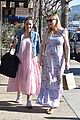kirsten dunst covers up baby bump in purple maxi dress 24