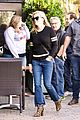 reese witherspoon doesnt seem to notice dustin hoffman outside the spa 05