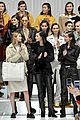 gigi and bella hadid rock leather in tods milan fashion week show 36