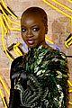 lupita nyongo danai gurira letitia wright represent ladies of black panther at euro premiere 35