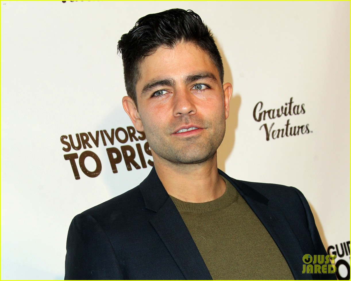 Jesse Williams Adrian Grenier Buddy Up At Survivors Guide To