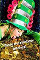 miley cyrus celebrates st patricks day with dfestive outfit 01