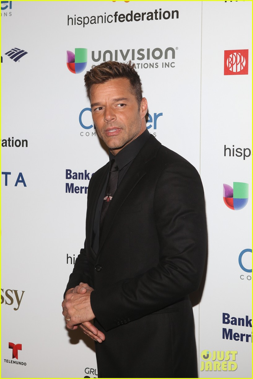 ricky martin lin manuel miranda suit up for rising stronger gala in NYC 08