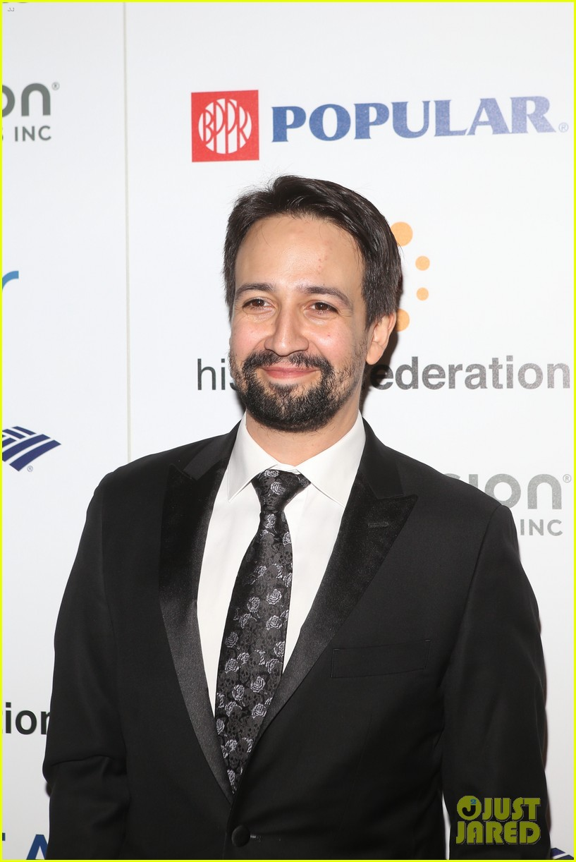 ricky martin lin manuel miranda suit up for rising stronger gala in NYC 12
