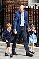prince george princess charlotte visit baby brother 27