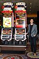 becca kufrin joins bachelor alum at slot machine unveiling 12