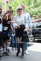 lady gaga greets fans during another day at the studio 19