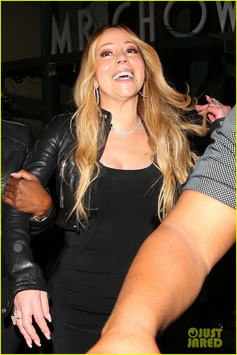 Mariah Carey & Boyfriend Bryan Tanaka Go on a Dinner Date in Beverly ...