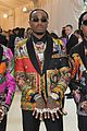 migos match in colorful versace suits and major bling at met gala 2018 01