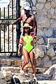 gabrielle union and shirtless dwyane wade show some sweet pda on vacation 01