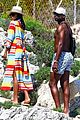 gabrielle union and shirtless dwyane wade show some sweet pda on vacation 39