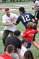 tom brady plays football with his kids best buddies 28