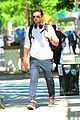 bradley cooper soaks up sunny weather in nyc 03