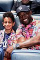 taye diggs celebrates fathers day with son walker at yankees game 04