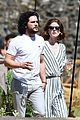 kit harington rose leslie day after wedding lunch 01